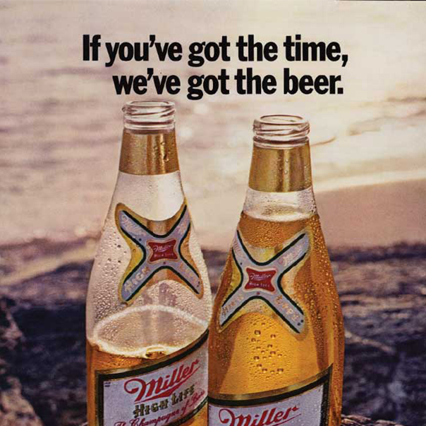 If you've got the time, we've got the beer.
