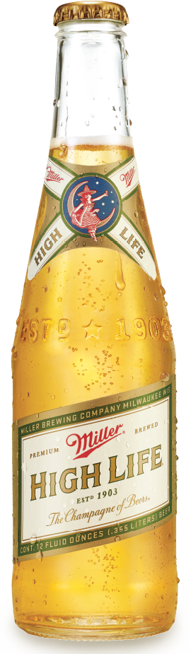 Miller High Light beer